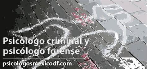 Diferencias entre psicología criminal y psicología forense