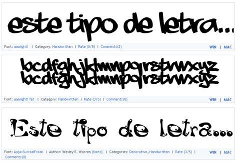 Diferentes tipos de letras   Imagui