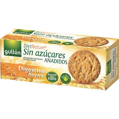 Digestive de avena galletas sin azúcar caja 410 g · GULLON ...