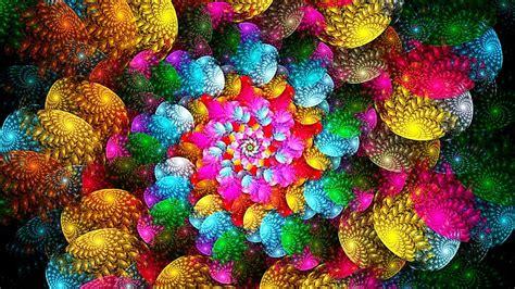 Digital flowery design full HD 3D images   New hd ...