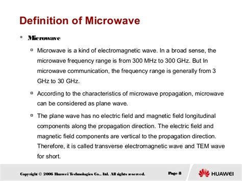 Digital microwave communication principles