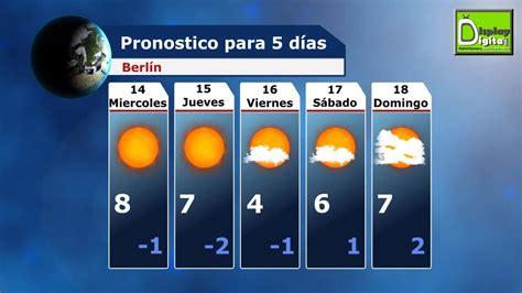 Digital signage. El Tiempo para 5 días. 14/11. Salamanca ...