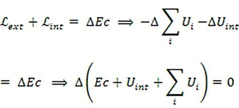 Dinámica de los sistemas. Energia mecánica total