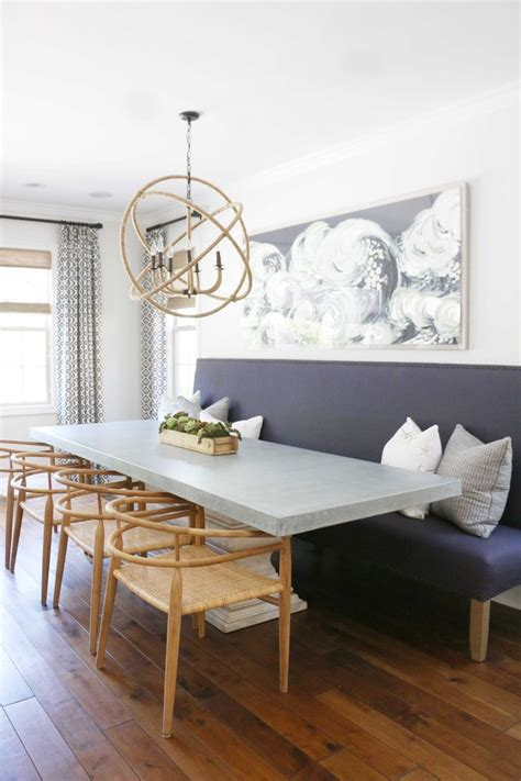 Dining Set: Leather Banquette | L Shaped Banquette ...