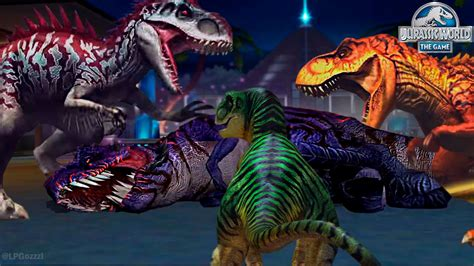 DINNER TIME?! DID WE DEFEAT T-REX BOSS OMEGA 09 ...