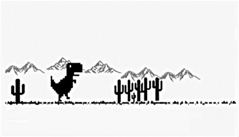Dino Run   Dinosty, el juego oculto sin conexión de Chrome ...