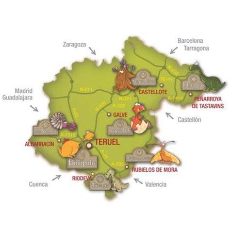 Dinópolis Teruel - Turismo en Teruel