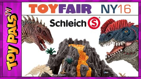 DINOSAUR Figures Toys + GIANT VOLCANO with T-Rex from ...