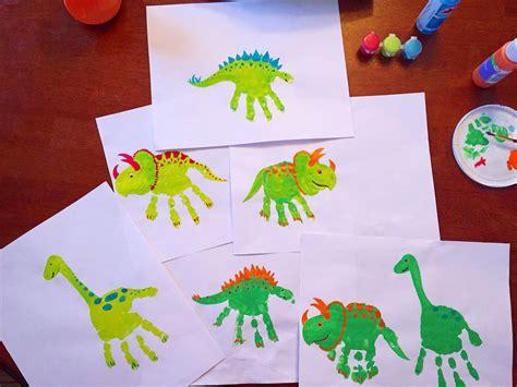 Dinosaur handprints! | Kids crafts | Pinterest | Craft ...