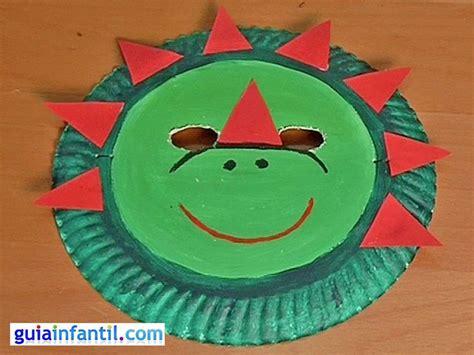 dinosaur mask craft | Bible School | Pinterest