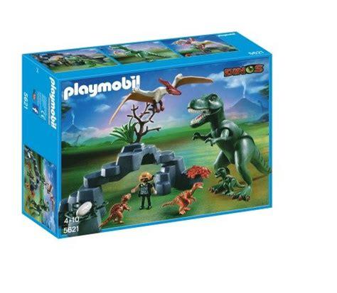 Dinosaurio playmobil en la guía de compras para la familia