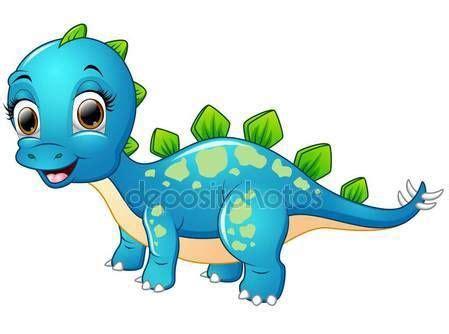Dinosaurios Animados. Sin Marco De Dibujos Animados D Nios ...