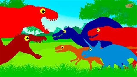 Dinosaurios Dibujos animados - Tiranosaurio Rex y otros ...