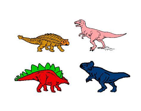 Dinosaurios dibujos pintados - Imagui