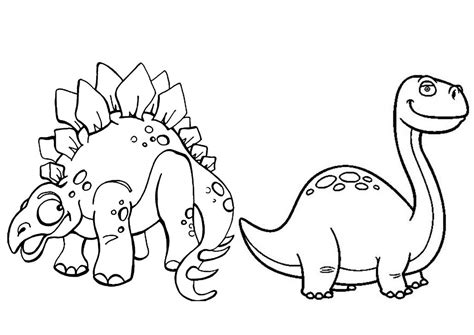 Dinosaurios para colorear | www.dinosaurios.tienda