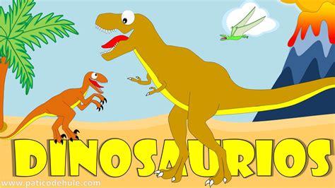 Dinosaurios para niños   Sonidos y nombres de Dinosaurios ...