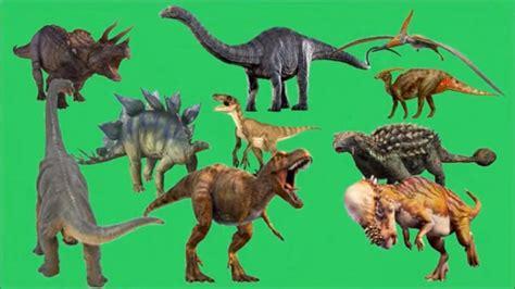 Dinosaurios para niños ???? Dinosaurio de los numeros del 1 ...