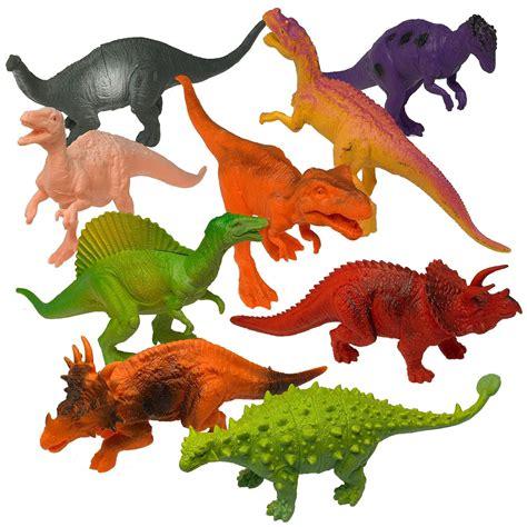 Dinosaurios Prextex grandes de plástico figuras juguetes ...