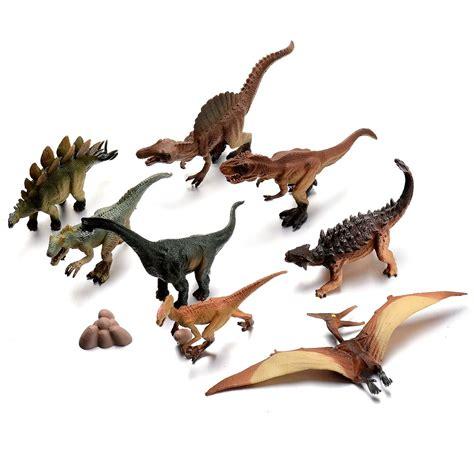 Dinosaurios Set Completo Coleccion A Escala Juguete Ml482 ...