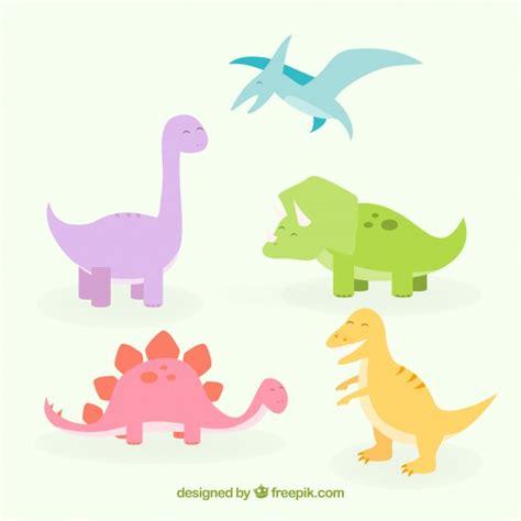 Dinosaurs Collection | Descargar Vectores gratis