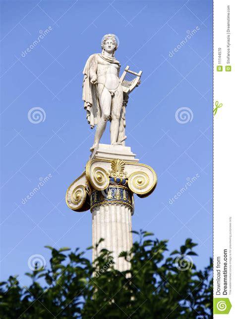 Dios Antiguo Griego Apolo Foto de archivo   Imagen: 11144570