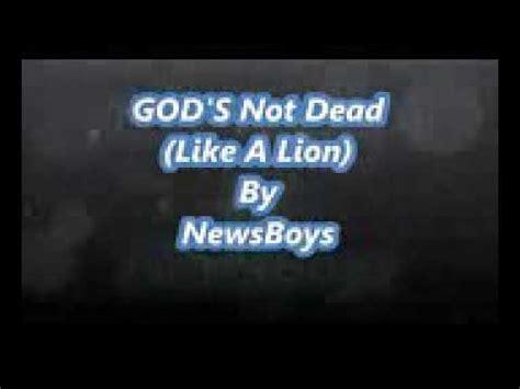 Dios no está muerto  canción en inglés    YouTube