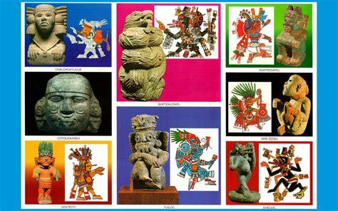 Dioses Aztecas - imagenes - wallpapers - Laminas escolares ...