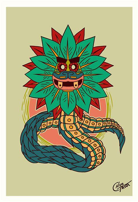 Dioses Aztecas on Behance   Origen   Pinterest   Civilization