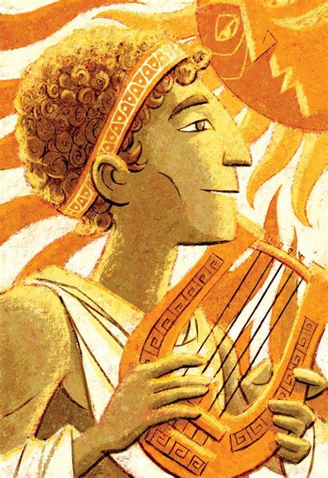 Dioses griegos Apolo 8 x 10 Print por glenmullaly en Etsy ...