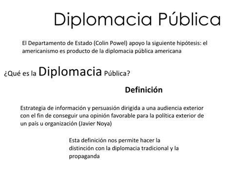Diplomacia PúBlica De Los Estados Unidos
