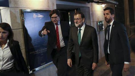 Directo moción censura | Rajoy pasa siete horas en un ...