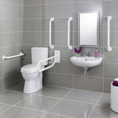 Disabled bathroom, Bathroom toilets and Basins on Pinterest