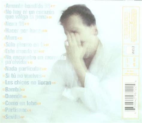 Disco de Miguel Bosé   «Lo Mejor De Miguel Bose»