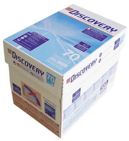 Discovery : Carta A4 Discovery 70 gr. Risma da 500 ff