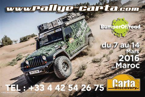 Discovery Rallye Carta 2016, un raid au rythme d'un rallye ...