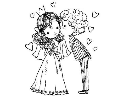 Disegno di Matrimonio del principe e la principessa da ...