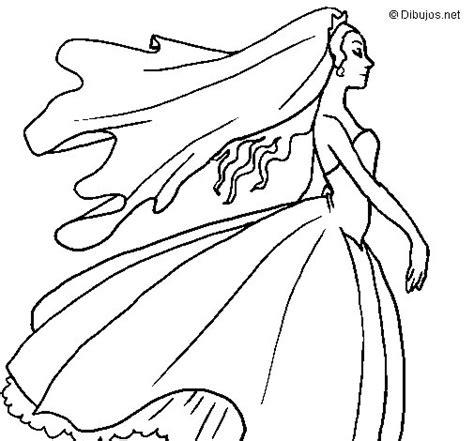 Disegno di Sposa da Colorare - Acolore.com