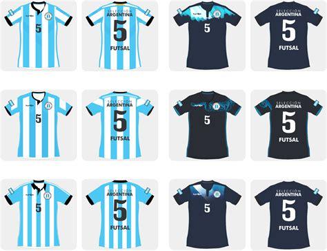 Diseñé la Camiseta Argentina de Futsal para el Mundial ...