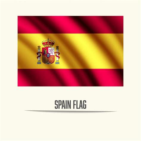 Diseño de bandera de españa | Descargar Vectores gratis
