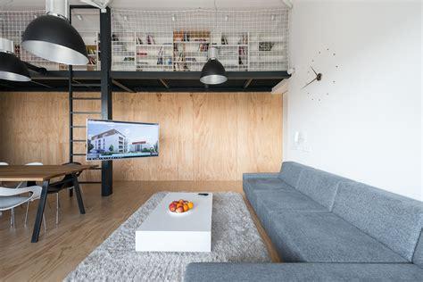 Diseño de departamento loft con plano | Construye Hogar