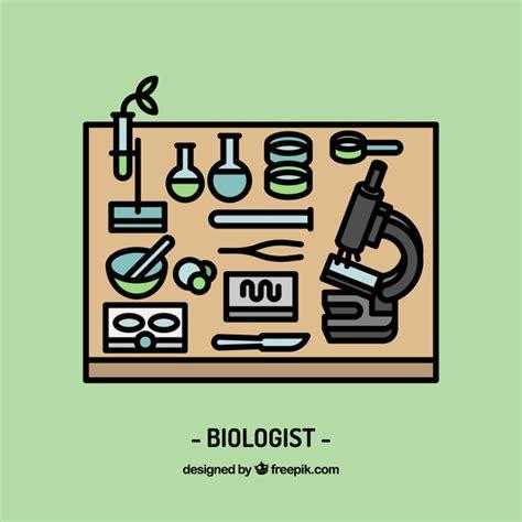 Diseño de espacio de trabajo de biólogo | Descargar ...
