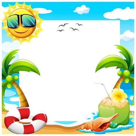 Diseño de fondo de verano | Descargar Vectores gratis