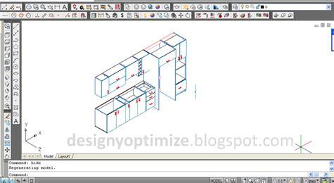 Diseño De Muebles Madera: Cocina 380 CM AutoCAD - Diseño y ...