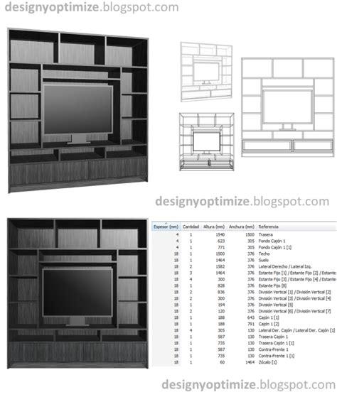 Diseño De Muebles Madera: Construcción de Centro de ...