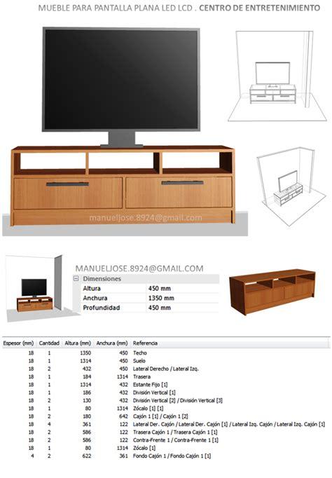 Diseño De Muebles Madera: Diseños: Construir Mueble Para ...