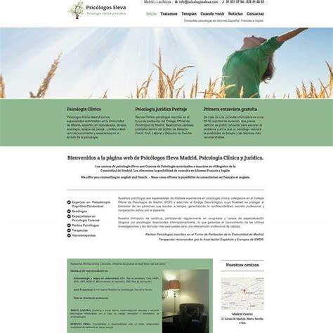 Diseño de página web para centros de psicología ...