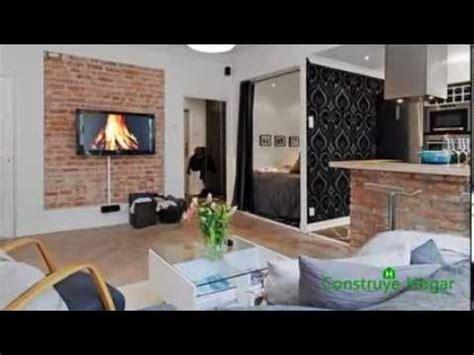 Diseño de pequeño apartamento moderno de un dormitorio ...