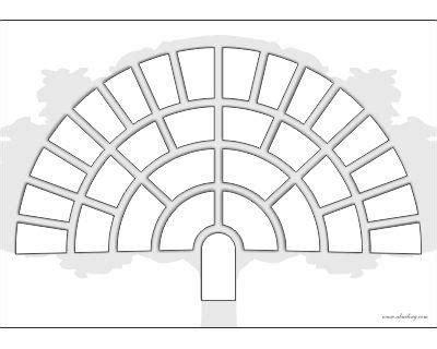Diseño en forma de Abanico | Arbol genealógico | Pinterest ...