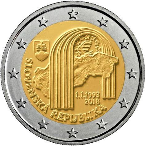 Diseño moneda de 2 euros conmemorativa Eslovaquia 2018 ...