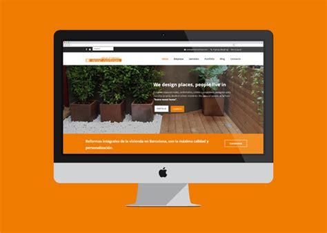 Diseño Página Web para Estudio de Interiorismo y Reformas ...